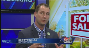 A video of Scott Finklea Mortgage Loan Originator talking with WDSU 6 about home buying